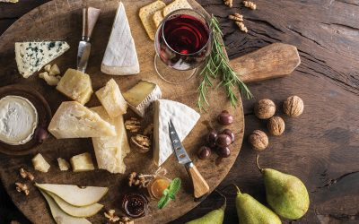 Organize a wine and cheese tasting