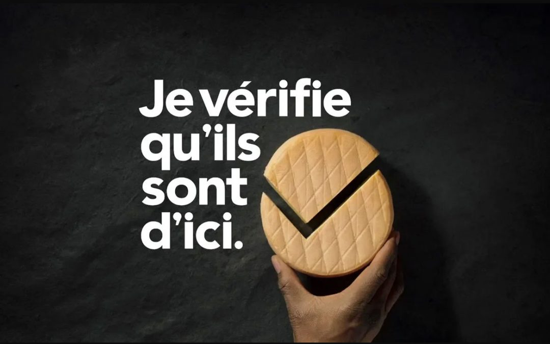 New advertising campaign for Fromage d'ici!